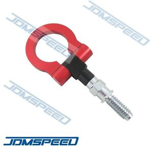 Red Cnc Euro Racing T2 Tow Hook For Bmw M E46 E81 E30 E36 E90 E91 E92 E93 1 3