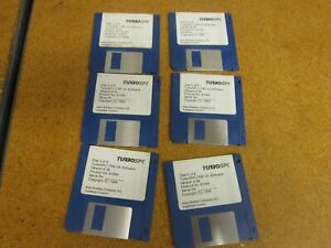 Allen Bradley Turbospc tm Va Software Version 4 34 6 Disks Total