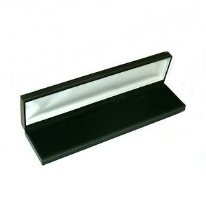 12 Classic Black Leatherette Bracelet Watch Jewelry Gift Boxes