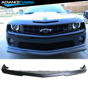For 10 13 Chevrolet Camaro Front Bumper Lip Unpainted Pu