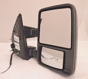 New Oem Manual Mirror Passenger 2011 2012 Ford F series Sd Dual Arm bc3z17682aa
