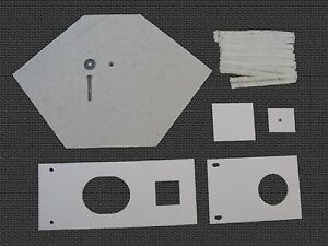 Waste Oil Heater Parts Lanair Mx 150 200 Combustion Chamber Refractory Brick Kit