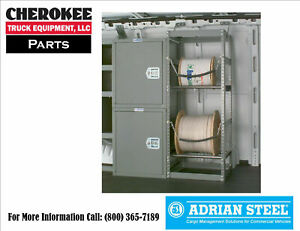 Adrian Steel Kdrh2 Cable Reel Holder 18 W X 46 H X 18 D
