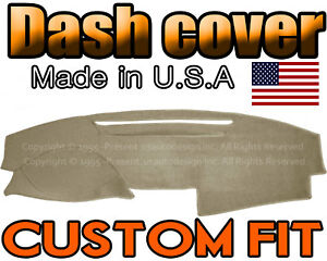 Fits 2007 2011 Toyota Camry Dash Cover Mat Dashboard Pad Beige