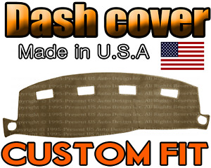 Fits 2002 2005 Dodge Ram 1500 2500 3500 Dash Cover Mat Dashboard Pad Taupe