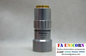 mitutoyo 1x M Plan Apo 100 0 025 F 200 Microscope Lens Fast Shipping 3 5day