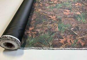 20 Yards 1000d Seat Cover Fabric Automotive Cordura True Timber Mixed Pine 60 w