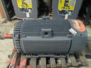Ge Motor 5k6449ss308 100hp 1200rpm 449t Frame 2300v 24 9a Refurbished