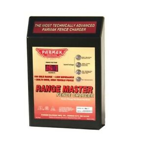 Parmak Range Master Advanced Electric Fence Charger rm 1 100 Mile Range