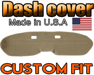 Fits 1964 1966 Ford Mustang Dash Cover Mat Dashboard Pad Beige