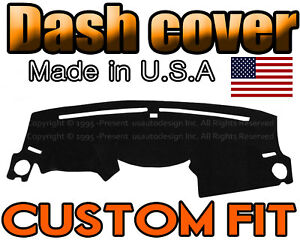 Fits 2009 2015 Honda Pilot Dash Cover Mat Dashboard Pad Black
