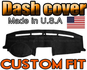 Fits 2008 2012 Ford Escape Dash Cover Mat Dashboard Pad Black