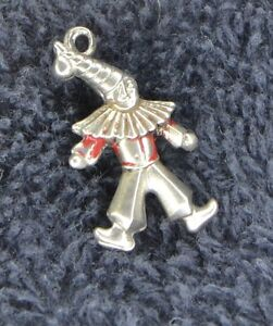 Sterling Silver Scrap Not 0 5 Grams Clown Or Jester Pendant Or Charm