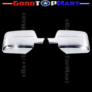 For Ford F150 2004 2005 2006 2007 2008 Chrome Full Mirror Covers Pair F 150