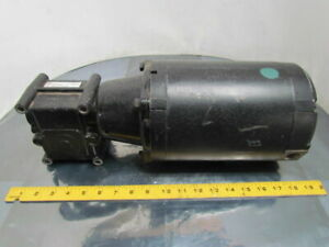 Reliance Electric 1 Hp 3ph 56c Motor W browning 1 1 Speed Reducer Gearbox 175rpm