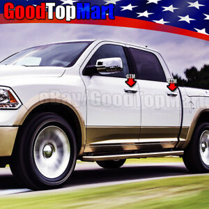For 2009 2013 2014 2015 2016 Dodge Ram 4 Chrome Door Handle Covers Without Psk
