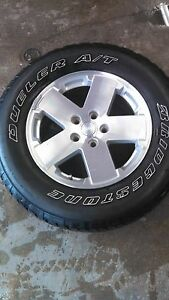 2009 Jeep Wrangler Wheels And Tires