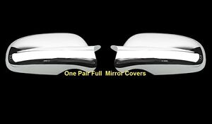 For Chevy Impala 2000 2001 2002 2003 2004 2005 Chrome Full Mirror Mirrors Covers