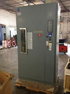 Onan Bt800 Transfer Switch W Bypass And Isolation 800a 3ph 4p 480vac Used E ok