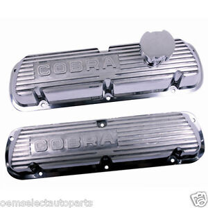 New Oem Ford Racing Polished Aluminum Valve Covers M6000d302 Efi Sbf 302 351