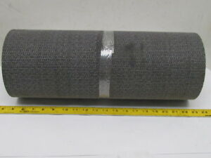 1 ply Material Handling Conveyor Belt Bb Bare X Bare Coated Top 18 x17 Long