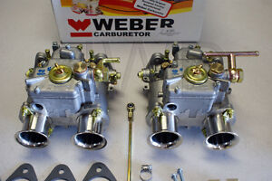 Mercedes Benz 190sl Dual 45 Dcoe Weber Carburetor Kit W Genuine European Webers