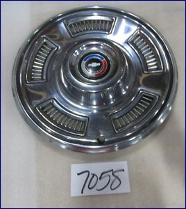1967 67 Chevy Chevelle Exc Ss Concours 14 Hubcap Hub Cap Used 3890691 3006