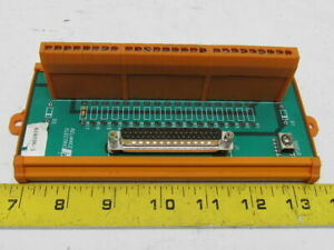 Reliance 610296 3 Termination Board Terminal Block Connector Panel Strip