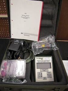 Tsi Portacount Plus Model 8020m Respirator Mask Fit Tester Vat Inc In Case