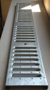 Zurn Z886 Fg Fabricated Galvanized Steel Slotted Grate p6 fg