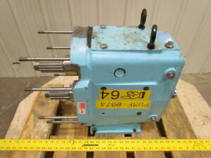Ampco Rbzp1 220 so Zp Series Positive Displacement Pump Drive 2 Input Shaft