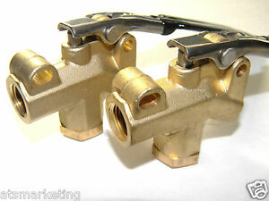 Carpet Cleaning Wp Brass 1 4 Angle Valves For Hoses Wands set Of 2