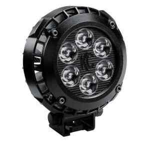Kc Hilites 1300 Single Lzr Led 4 Black Round Driving Light off Road