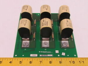 Rockwell Automation 173285 Rev 01 Capacitor Board Assembly 2000vdc A 173114 8