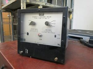Fpe Class 1 Ground Relay Tlr 3 100 f Pickup Amps 100 500 Time 1 4sec 600v