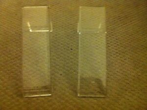 Lot Of 2 Acrylic Bracelet Watch Jewelry Display Stands Holders