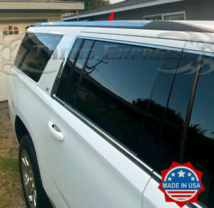 2015 2019 Chevy Suburban Yukon Xl Stainless Steel Roof Rack Cover Molding Trim