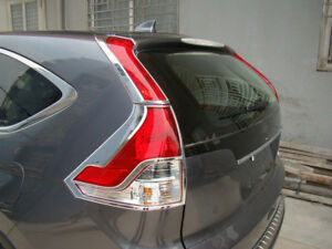 Abs Chrome Rear Tail Light Lamp Cover Trim For Honda Crv Cr v 2012 2013 2014