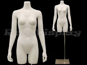 Fiberglass Female Invisible Ghost Mannequin Removable Neck And Arms md tfw iv
