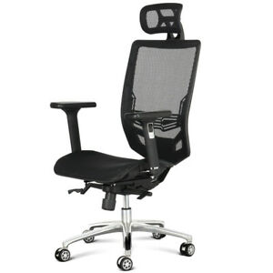 Ergonomic Executive Swivel Mesh Office Computer Desk Task Chair Midback W Arms