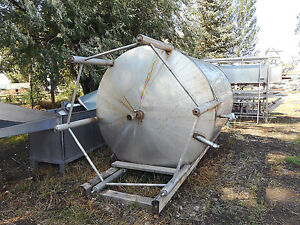 Stainless Steel Tank W frame