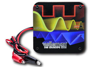 Velleman Edu09 Educational Pc Oscilloscope Diy Soldering Kit