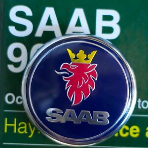 Saab 9 2x 2004 2006 Trunk Badge