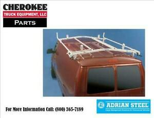 Adrian Steel 63 fdeco 7ft Double Grip lock Ladder Rack For Ford Econoline