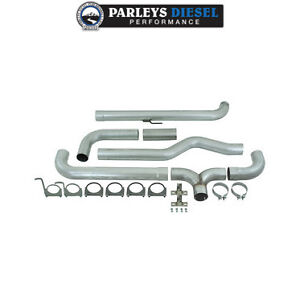 Mbrp Smokers 5 Downpipe Back Dual Stack Kit For 2001 2007 Duramax 6 6l Diesel