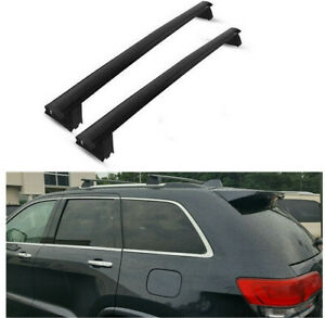 For 2011 2017 Jeep Grand Cherokee Oe Style Roof Rack Cross Bars Luggage Carrier