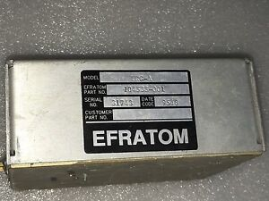 10mhz Efratom Rubidium Frequency Standard Frs a Square wave High Level Ttl