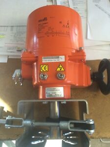 Belimo Electric Actuator With Wheel Sy2 120mft 200 Psi 800 lbs 90nm
