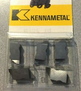 Kennametal Ng 4125l K45 Lathe Carbide Inserts Grooving Cut Off Top Notch 5 Pcs