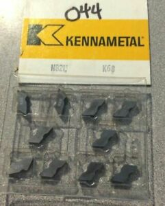 Kennametal Nb2l K68 Lathe Carbide 10 Inserts Metal Cutting Tools New